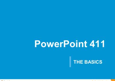 PowerPoint 101